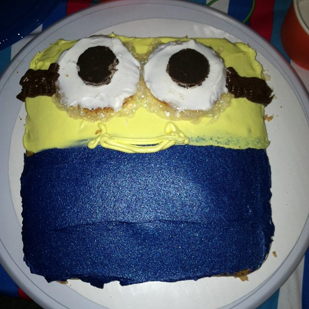 The Minion Cake