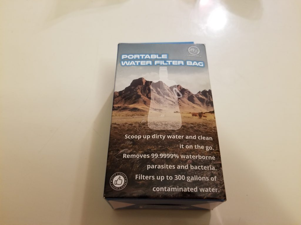 Survival Hax Water Filter Bag Review - Tina Bs World