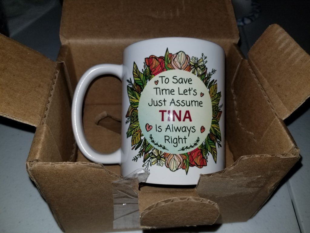5amily Mug Review - Tina Bs World