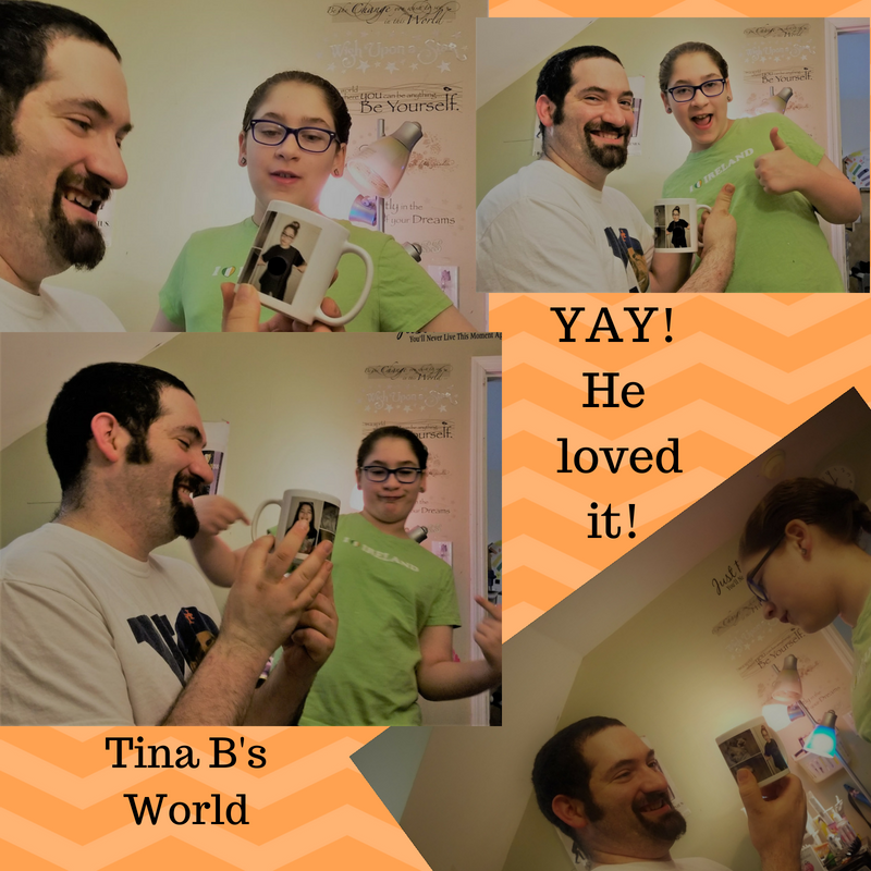 Presto Photo Custom Mug Review - Fathers Day Gift - Tina Bs World