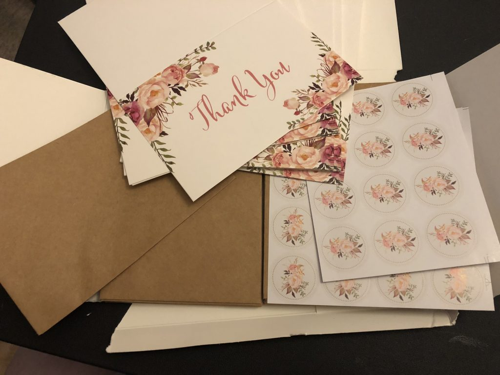 Floral Thank You Notes Review - Tina BS World