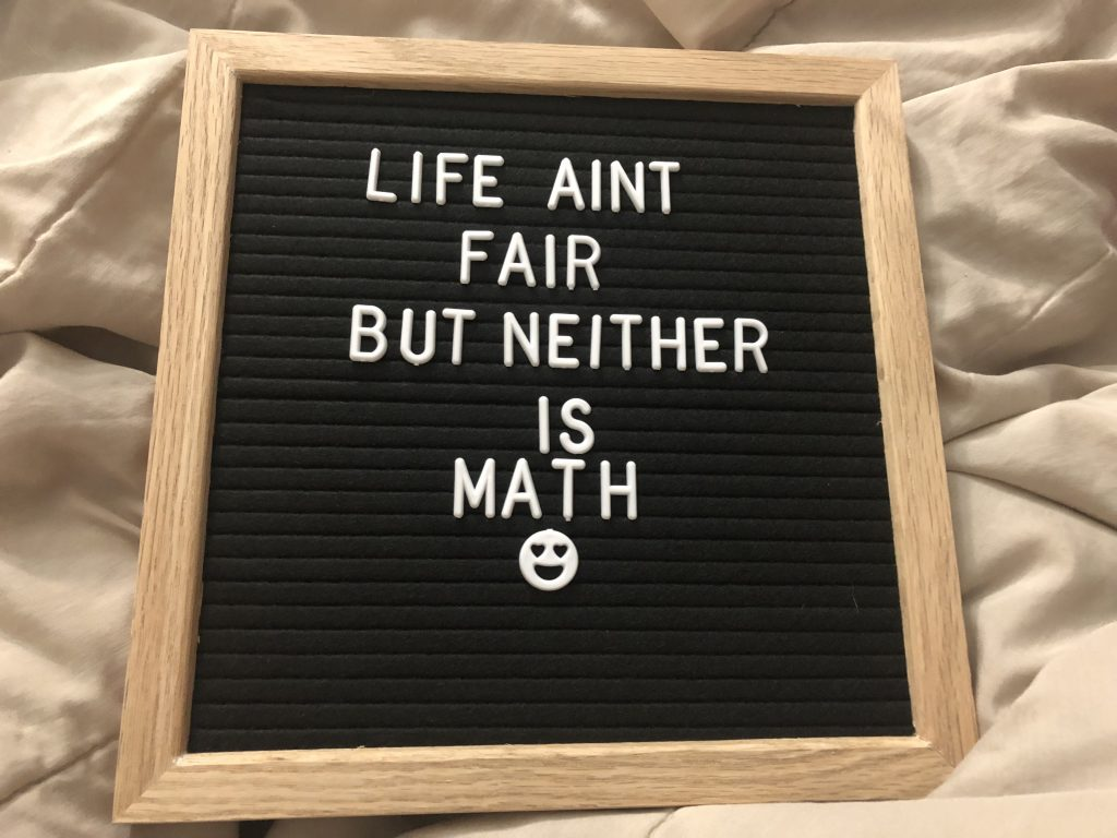 Felt Letter Board Review - Tina Bs World